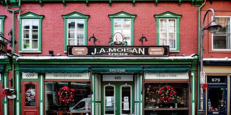 Épicerie J.A. Moisan, Québec (By Atelier Du Chef)